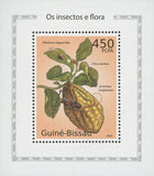Insects And Flora Citron Mini Sov. Sheet MNH