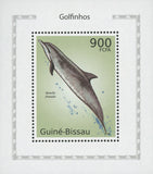 Dolphins Atlantic Spotted  Mini Souvenir Sheet Mint NH