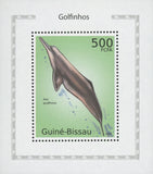 Dolphins Amazon River Mini Souvenir Sheet Mint NH