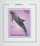 Dolphins Melon-headed Whale Mini Souvenir Sheet Stamp Mint NH MNH
