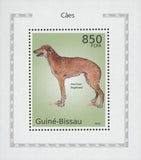 Dog Stamp American Staghound Mini Sov. Sheet Stamp Mint NH