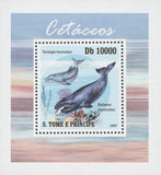 Cetaceans Tursiops Truncatus Whale Marine Fauna Mini Sov. Sheet Stamp MNH