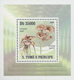 Mushrooms Scuticaria Steelii Mini Sov. Sheet MNH