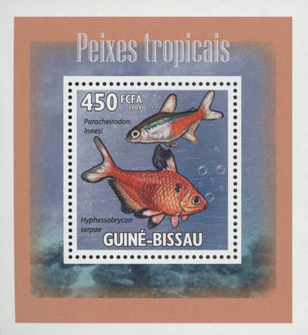 Tropical Fish Hyphessobrycon Mini Sov. Sheet MNH