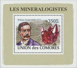 Mineralogist William Niven Mini Sov. Sheet MNH