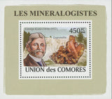 Mineralogist George Kunz Mini Sov. Sheet MNH