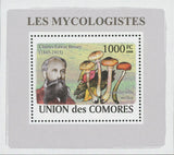 Mycologist Charles Edwin Bessey Fungi Mushrooms Mini Sov. Sheet MNH