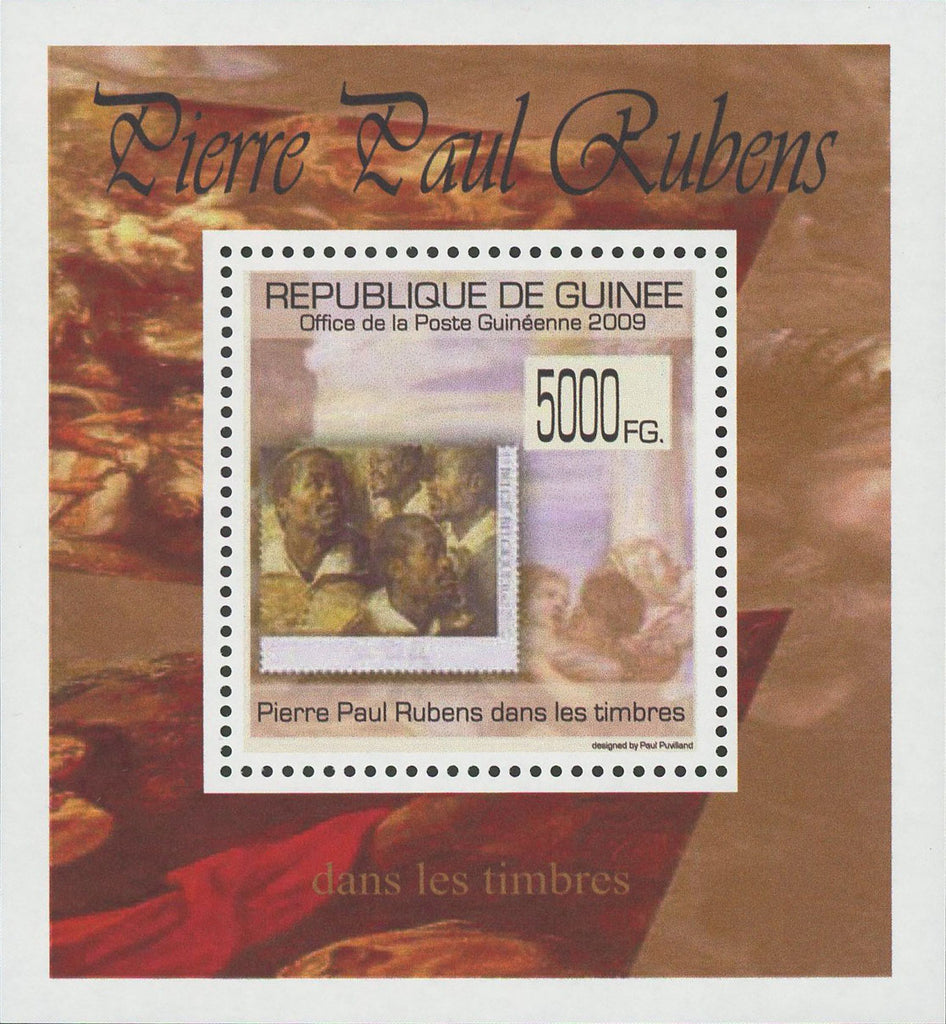Stamp in a Stamp Pierre Paul Rubens Paint Mini Sov. Sheet MNH