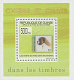 Stamp in a Stamp Dogs and Cats Finland Mini Sov. Sheet MNH