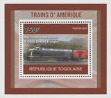 American Trains Bachmann Baltimore Mini Sov. Sheet MNH