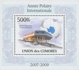 International Polar Year Antarctic Station Mini Sov. Sheet MNH