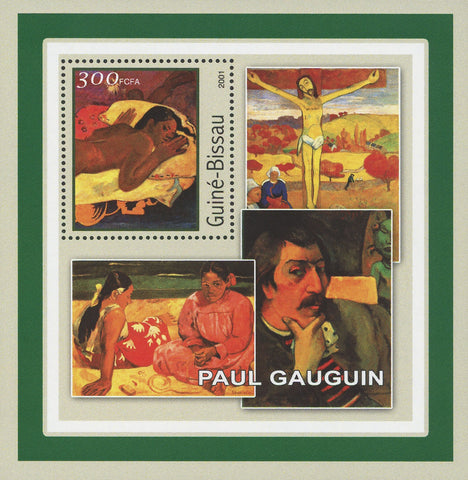 Famous Painter Paul Gauguin Art Souvenir Sheet Mint NH