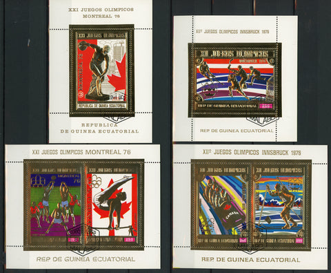 Olympic Games Innsbruck Montreal 1976 Serie Set of 4 Stamps