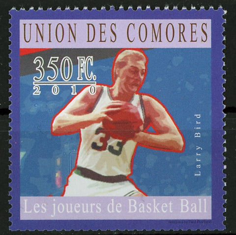Basketball Player Larry Bird Sport Individual Stamp Mint NH