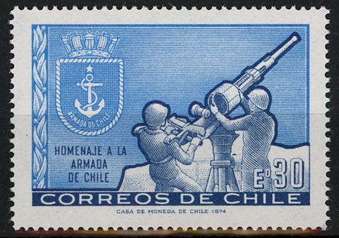 Chile Tribute to Clhilean Navy Mint NH