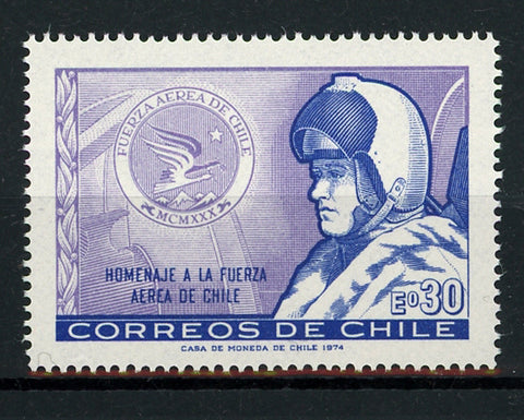 Chile Tribute Chilean Air Force Mint NH