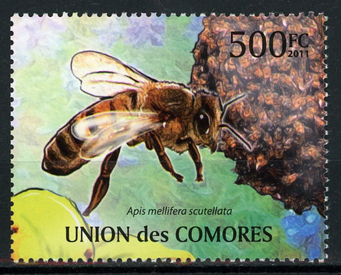 Bee Apis Mellifera Scutellata Insect Individual Stamp Mint NH