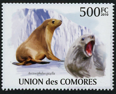 Fur Seal Marine Fauna Individual Stamp Mint NH