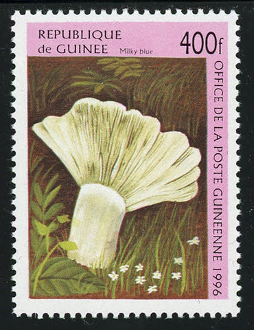 Mushroom Milky Blue Nature Plant Fungi Individual Stamp Mint NH