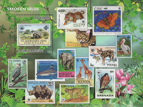 Animals Stamp in Stamp Souvenir Sheet Mint NH