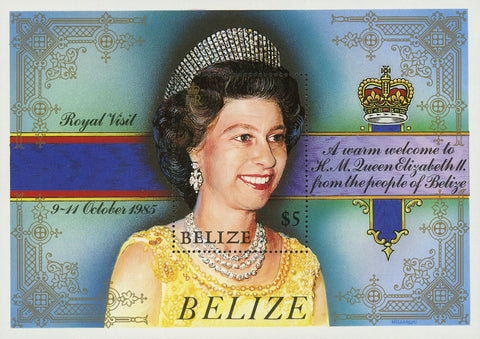 Queen Elizabeth II Royal Family Souvenir Sheet MNH