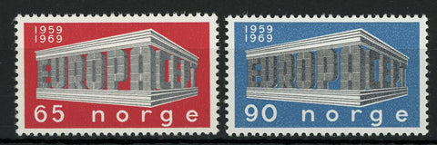 Norway Europe CEPT Postage Communication Serie Set of 2 Stamp Mint NH