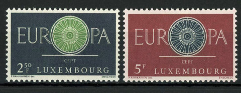 Luxemburg Europe CEPT Postage Communication Serie Set of 2 Stamp Mint NH