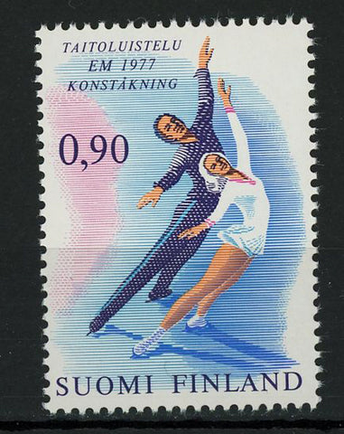 Finland Figure Skating Ice Sport Individual Stamp Mint NH