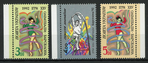Olympic Games Sport Serie Set of 3 Stamps Mint NH