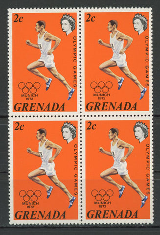 Olympic Games Munich 1972 Sport Block of 4 Stamps Mint NH