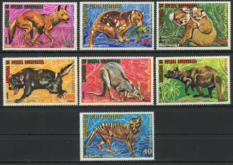 Nature Protection Australia Wild Animals Koala Serie Set of 7 Stamps MNH