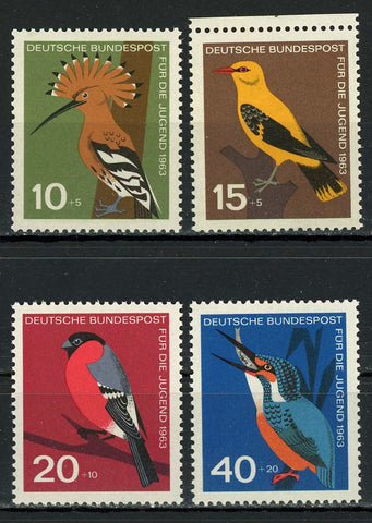 Germany Birds For The Young Serie Set of 4 Stamps MNH