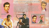 Congo Famous Actors James Dean Souvenir Sheet Mint NH