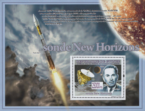 Guinea New Horizon Probe Pluto Souvenir Sheet Mint NH