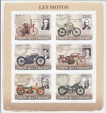 Antiques Motorcycles Old BMW NSU Excelsior Böhmerland Indian Daimler Inv