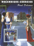Famous Painter Paul Delvaux Art Souvenir Sheet MNH