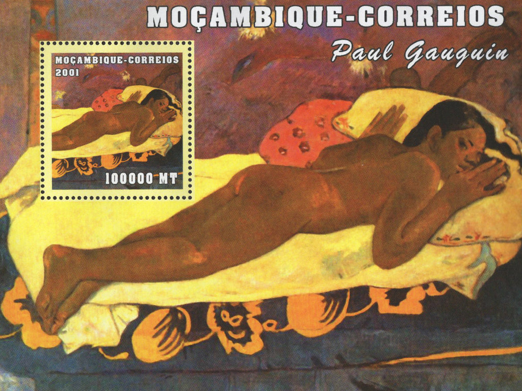 Famous Painter Paul Gauguin Art Souvenir Sheet MNH