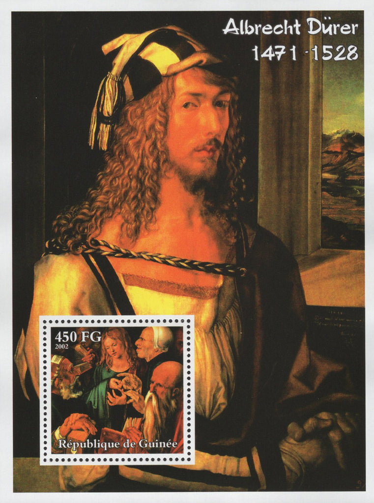 Albrecht Durer Famous Painter Art Souvenir Sheet MNH