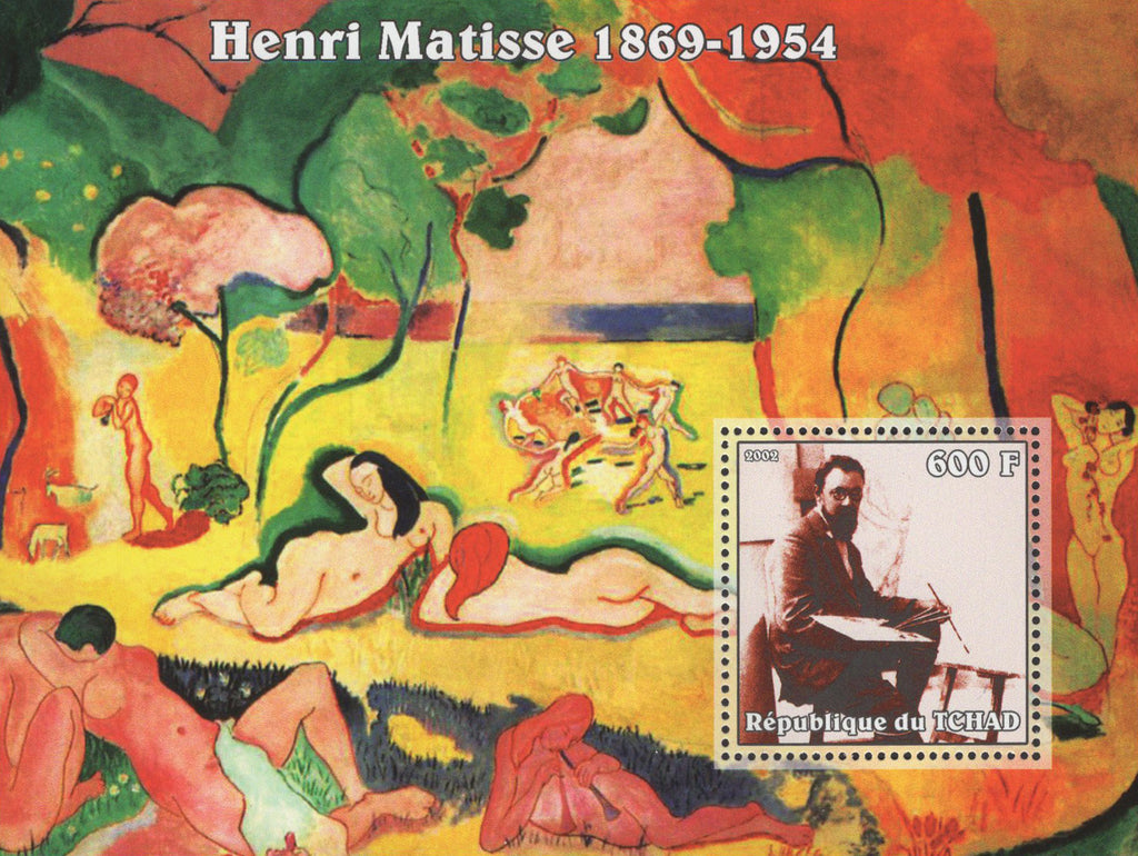 Colorful Famous Painter Henri Matisse Souvenir Sheet Mint NH