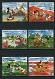 Grenada Disney Stamps Australia Sydney Serie Set of 6 Stamps Mint NH