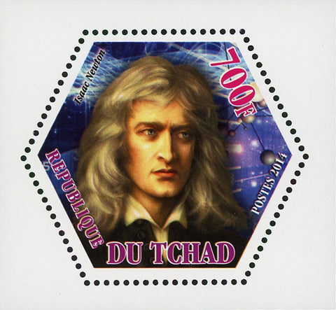 Scientific Famous Isaac Newton Mini Souvenir Sheet Mint NH