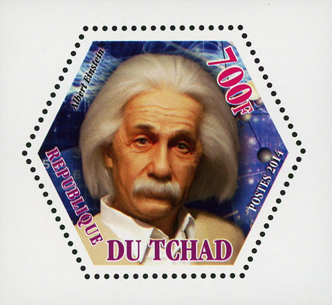 Scientific Famous Albert Einstein Mini Souvenir Sheet Mint NH