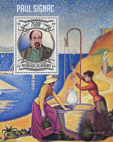 Paul Signac Painter Art Famous Souvenir Sheet Mint NH