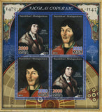 Nicolaus Copernicus Historical Figure Sov. Sheet of 4 Stamps MNH