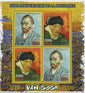 Madagascar Van Gogh Historical Figure Painter Art Sov. Sheet of 4 Stamps Mint NH