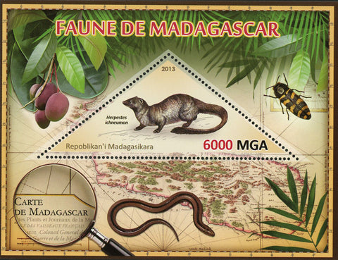 Fauna Wild Animal Herpestes Ichneumon Souvenir Sheet Mint NH