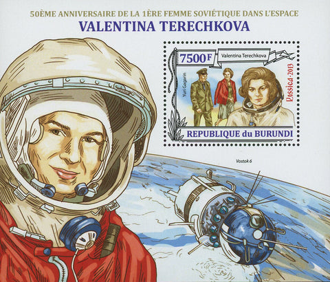 Valentina Tereshkova Woman Space Sov. Sheet MNH