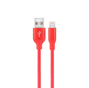 AIQ-USBLIT-3RED 3' Lightning (MFI) Cable