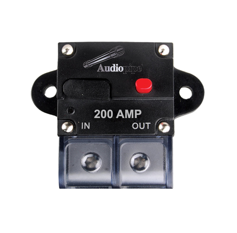 CB-200A Manually Resettable Circuit Breaker