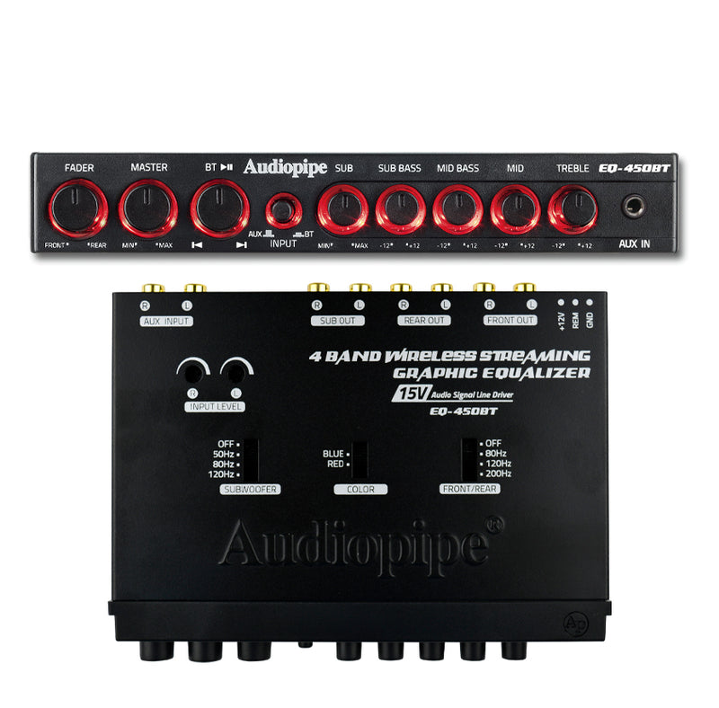 EQ-450BT Band Wireless Streaming Graphic Band Equalizer